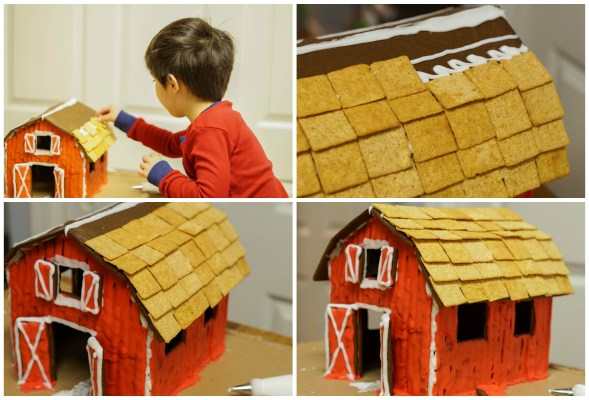 Gingerbread Roof