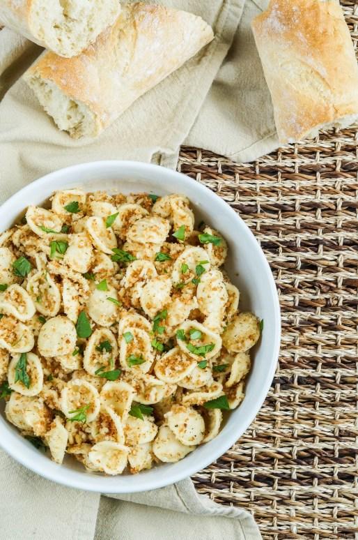 Strascinati con la Mollica (Italian Pasta with Breadcrumbs (1 of 3)
