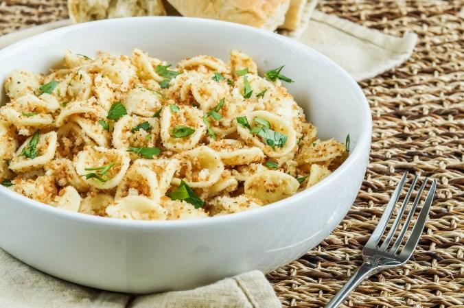 Strascinati con la Mollica (Italian Pasta with Breadcrumbs (2 of 3)