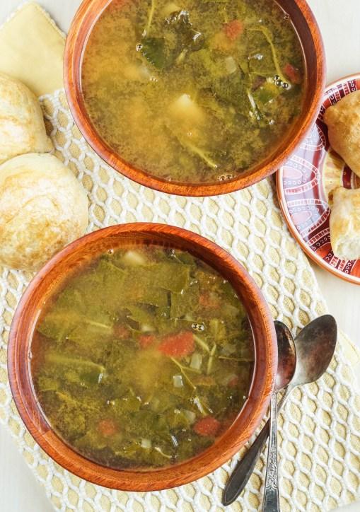 Sopa de Acelgas con Papas (Mexican Swiss Chard and Potato Soup) (3 of 3)