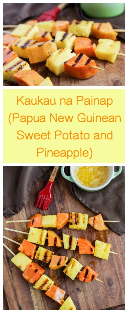 Kaukau na Painap (Papua New Guinean Sweet Potato and Pineapple)