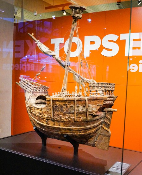 Mataró model- the oldest model ship in Europe, dating back more than six centuries.