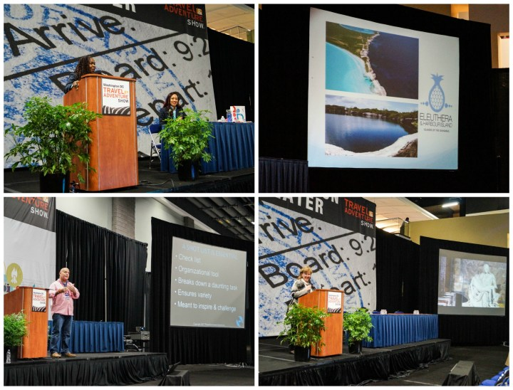 Speakers at the Washington DC Travel & Adventure Show 2017