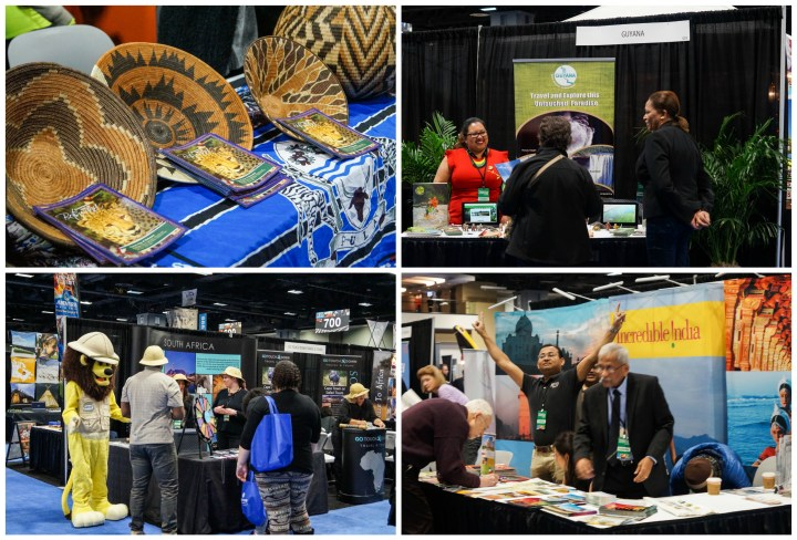 Vendors at the Washington DC Travel & Adventure Show 2017- Botswana, Guyana, South Africa, Incredible India