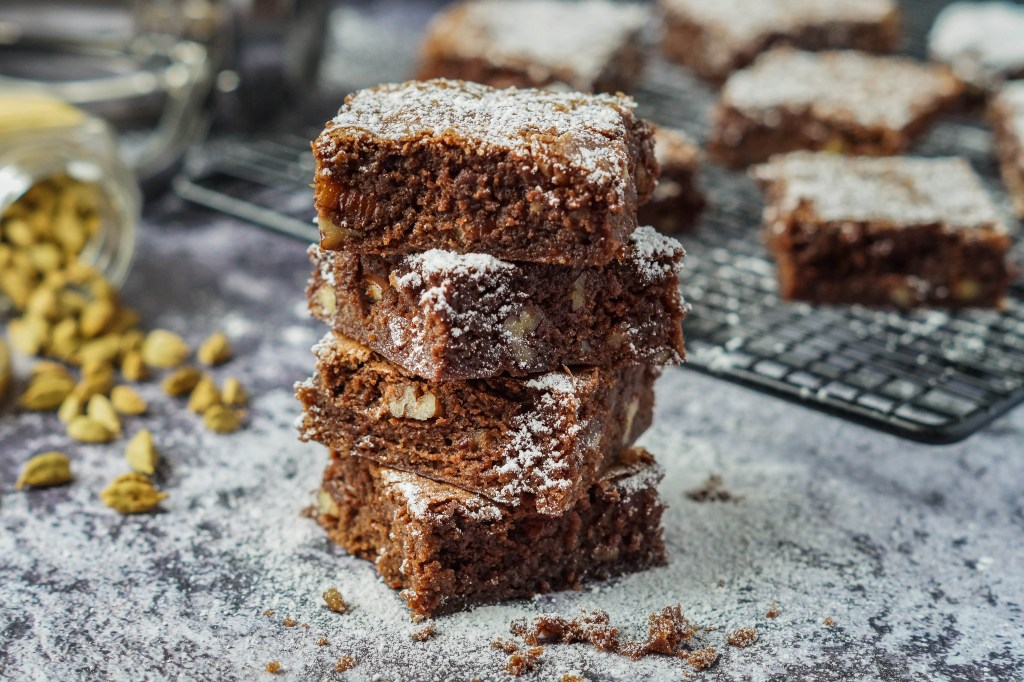 Cardamom Brownies