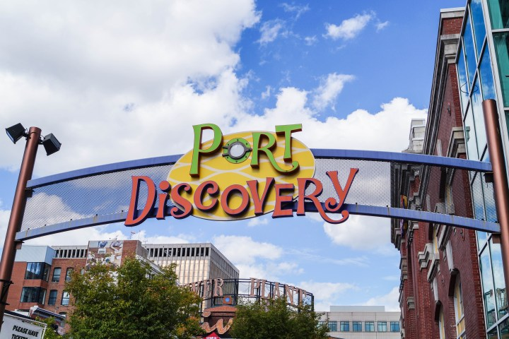 Sign for Port Discovery.