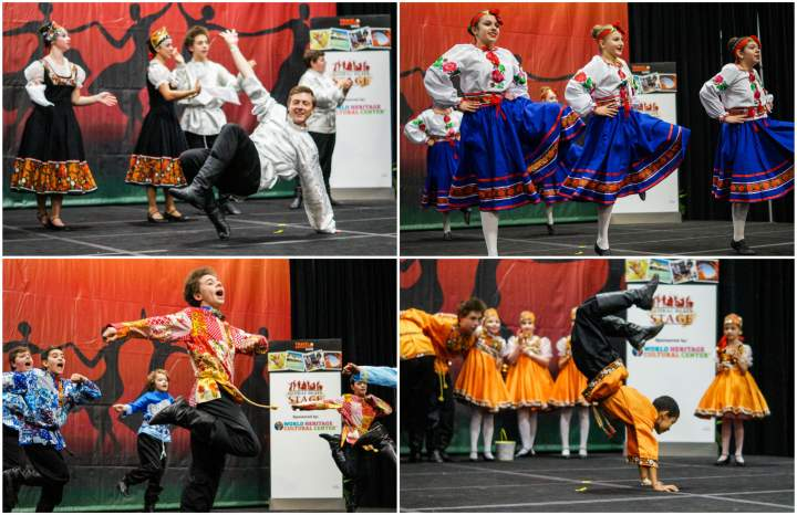 Traditional Russian Dance in Baltimore from Kalinka