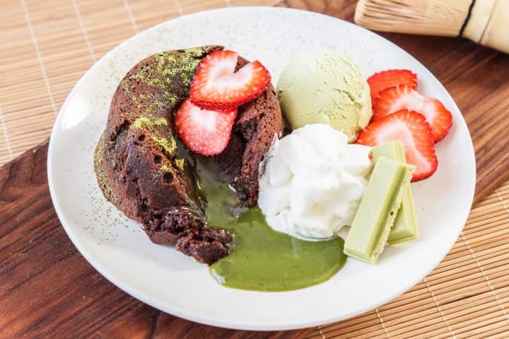 Matcha Lava Cake