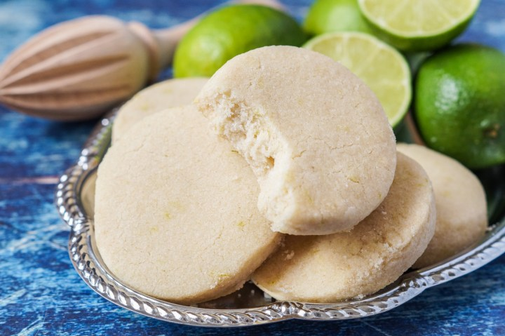 Torticas de Morón (Sugar Cookies with Lime Zest)