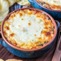 Chorizo Cheese Dip with Spinach