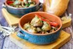 Cogumelos Marinados com Bacon (Portuguese Marinated Mushrooms with Bacon)