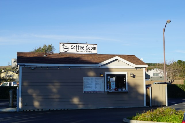 Drive-thru for Coffee Cabin