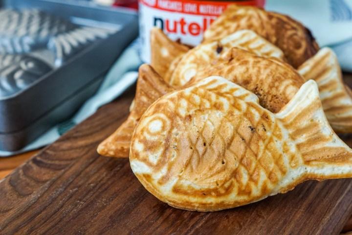 Nutella Taiyaki