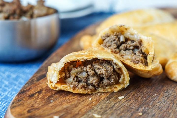 Inside of Empanadas de Carne (Beef Empanadas)