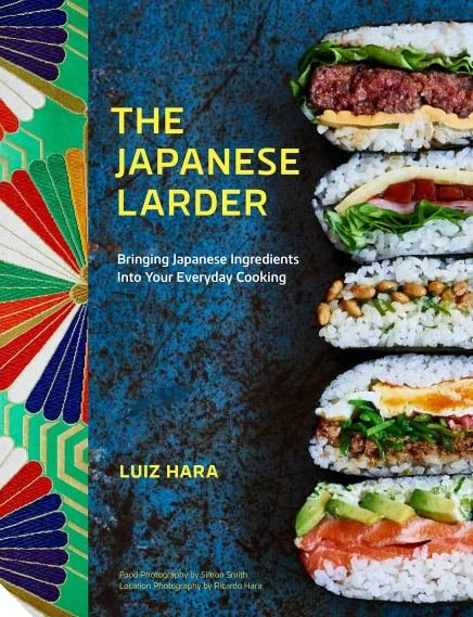 Cookbook cover- The Japanese Larder: Bringing Japanese Ingredients into Your Everyday Cooking by Luiz Hara.