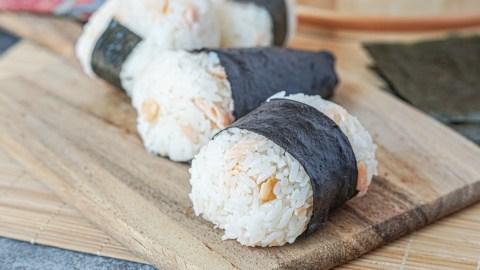 Sake Onigiri (Salmon Rice Balls) and Sushi Master Cookbook Review