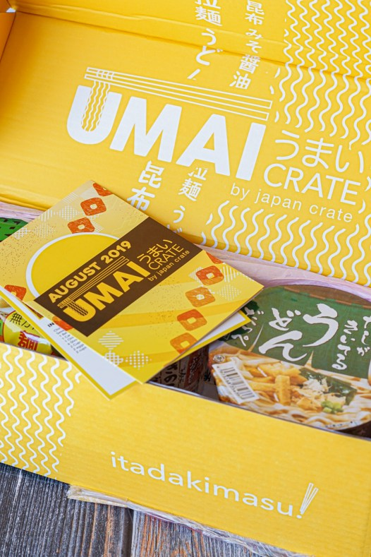 Umai Crate Box Contents