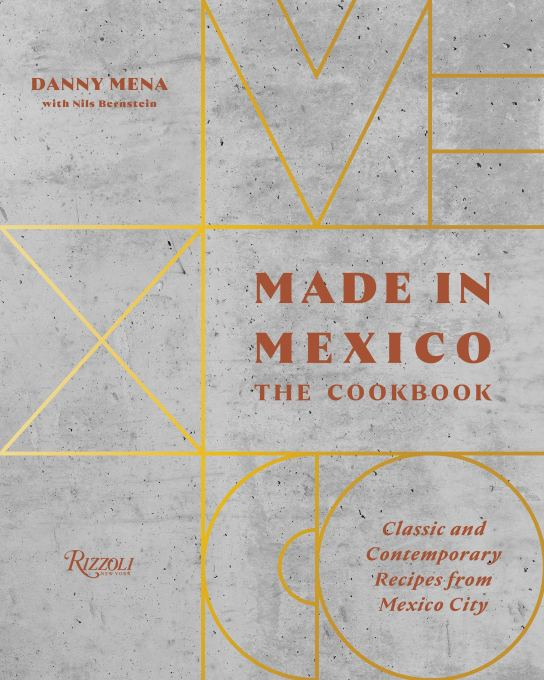 Made in Mexico cookbook cover