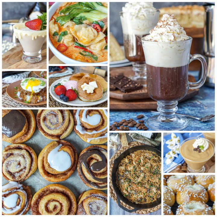 Happy 2021! Here is a collage of favorite recipes from 2020.