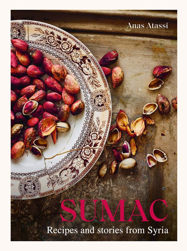 Cookbook cover- Sumac: Recipes and Stories from Syria by Anas Atassi.