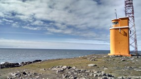 Lighthouse over the Atlantic