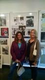 Tara & Kathy inside the Anne Frank House