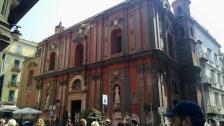 Big buildings in Naples.