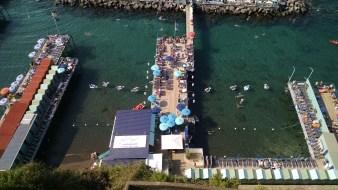 Beaches of Sorrento, Italy.