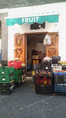 Shops of Amalfi, Italy.