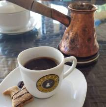 Armenian coffee and pot