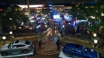 View of casino from above in Montecasino.