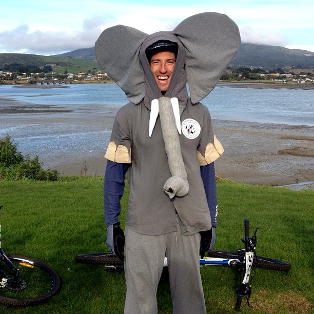Riding for the Elephants and the Rhinos