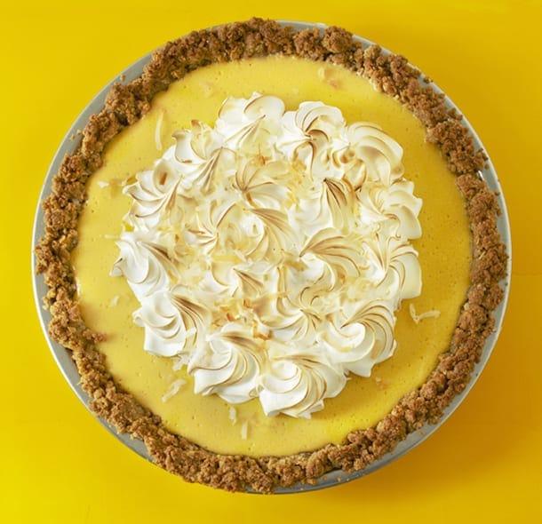 Coconut-Mango Pie