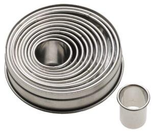 ateco round cutter set
