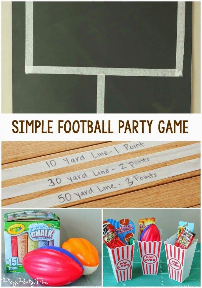 Play Party Plan Super Bowl Football party-game