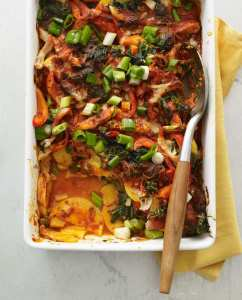 This is a dinner shortcut you will thank me for! Chicken enchiladas were never so easy, family-pleasing and delicious. You'll never believe the secret.