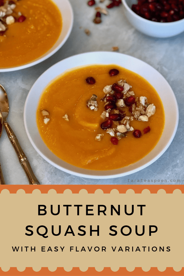 butternut squash soup pin