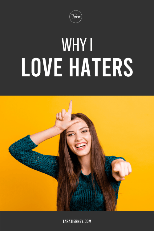 Why I Love Haters