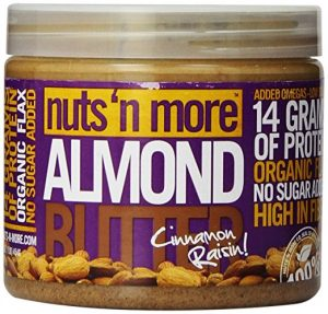 Nuts N More - Cinnamon Raisin Almond Butter | Tara Tierney