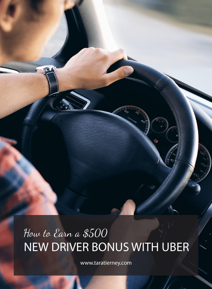 How to Earn a $500 New Driver Bonus with Uber