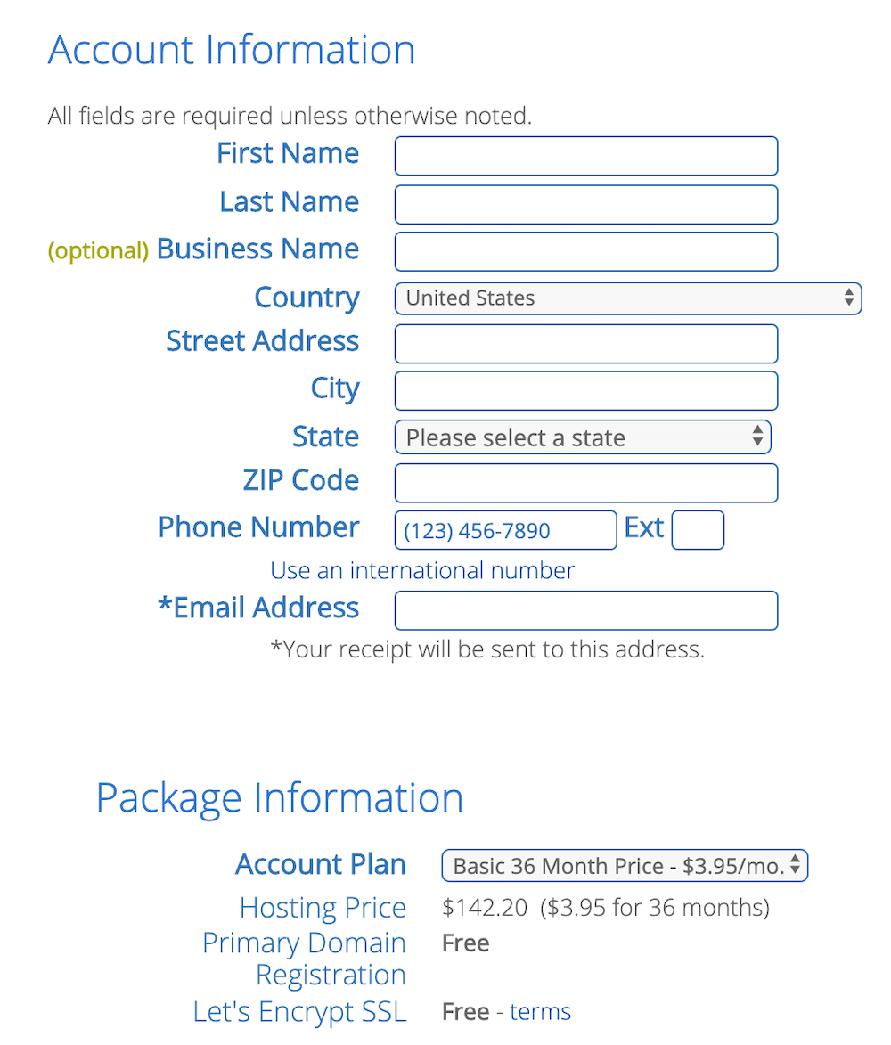 4 - Create Your Account