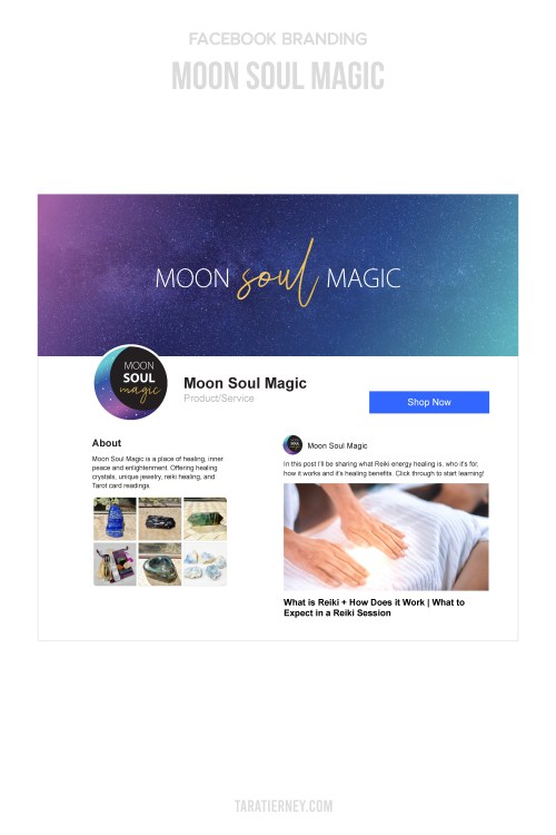 Facebook Mockup - Moon Soul Magic