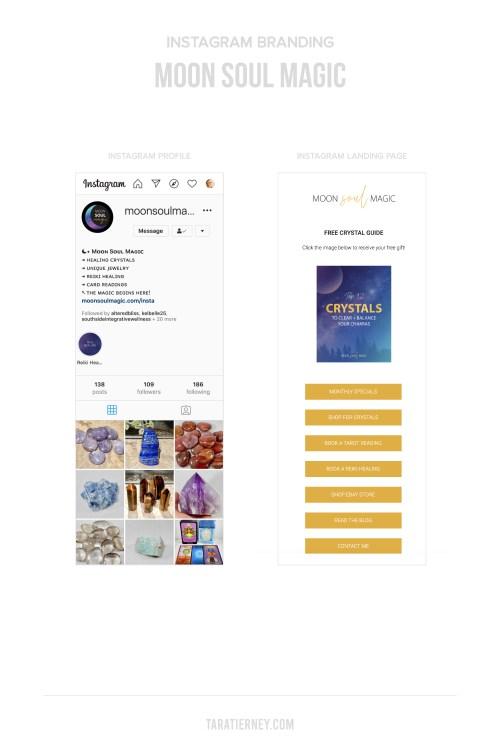 Instagram Branding - Moon Soul Magic