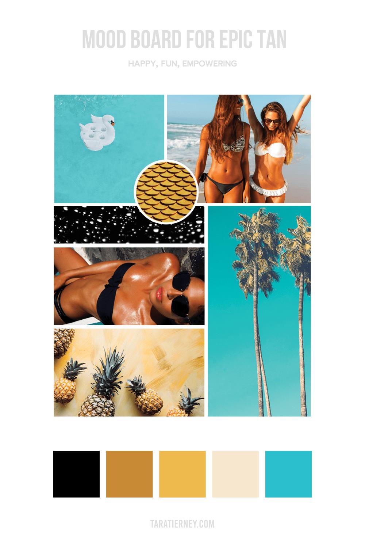 Mood Board - Epic Tan
