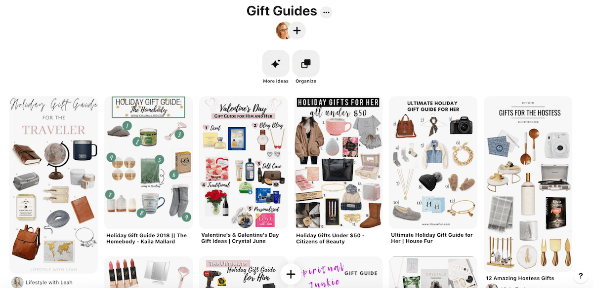 Gift Guide Ideas
