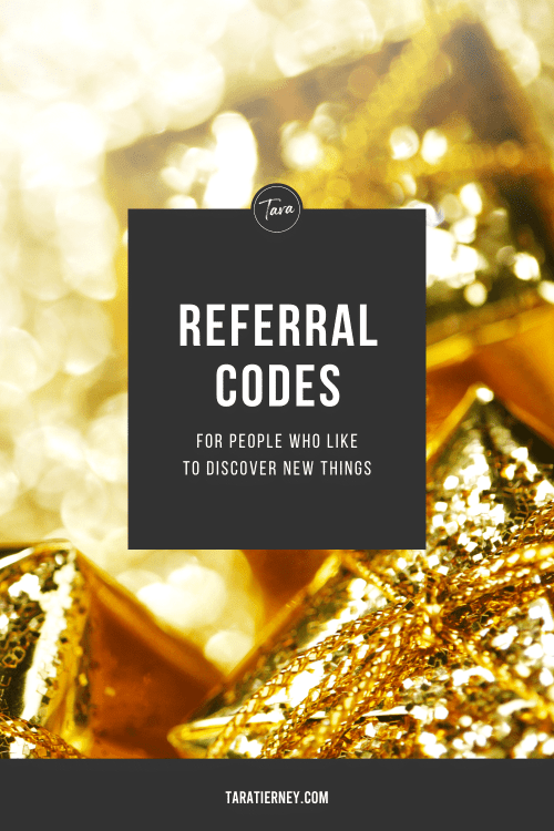 Referral Codes - Discover New Things
