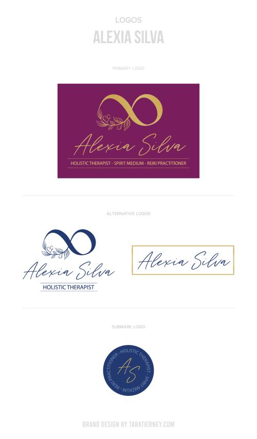 Logos Alexia Silva Holistic Therapist