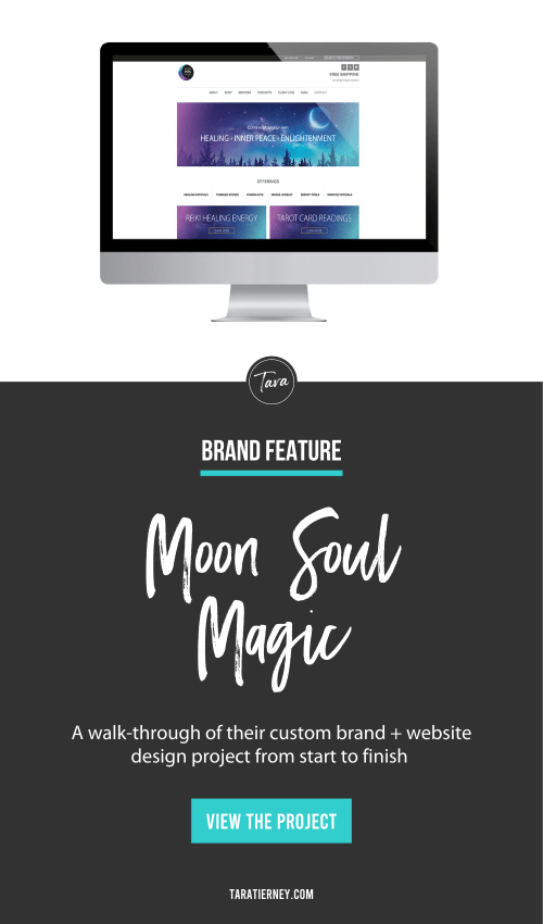 Moon Soul Magic - Brand + Website Feature