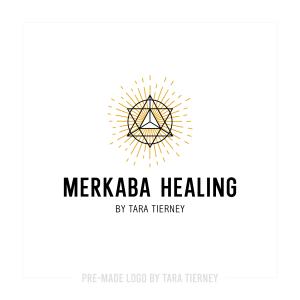 Merkaba Burst Logo
