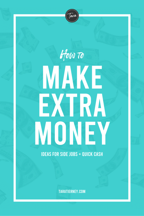 How to Make Extra Money – Ideas for Side Jobs + Quick Cash
